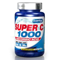 Super C 1000 envase de 100 comprimidos del fabricante Quamtrax (Vitaminas)