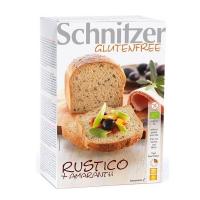 Pan rústico con amaranto sin gluten bio envase de 2 x 250 g de la marca Schnitzer (Panaderia Dietetica)