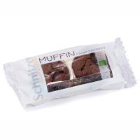 Muffins de chocolate negro sin gluten bio de 140 g del fabricante Schnitzer (Repostería acaloríca y proteica)