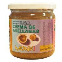 Crema de Avellanas envase de 330g de Monki (Mermeladas)