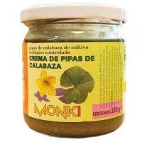 Crema de Pipas de Calabaza envase de 330g de la marca Monki (Cremas de otros Frutos Secos)