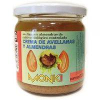 Crema de Avellanas y Almendras envase de 330g del fabricante Monki (Crema de Almendra)
