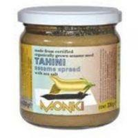 Crema de Sésamo Tahini sin sal de 330g de la marca Monki (Cremas de otros Frutos Secos)