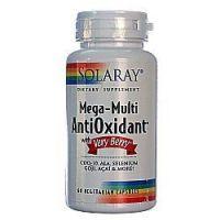 AntiOxidant. Mega-Multi w/Very Berry™ de 60 vcaps de Solaray (Antioxidantes)
