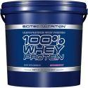 100% Whey Protein de 5kg de la marca Scitec Nutrition (Proteina de Suero Whey)