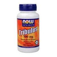 Tribulus 500 mg envase de 100 cápsulas de Now Foods