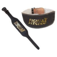 Cinturón Piel Extra Ancho FandF de Fight and Fitness