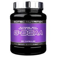 G-BCAA de 250 comprimidos de la marca Scitec Nutrition (BCAA Ramificados)