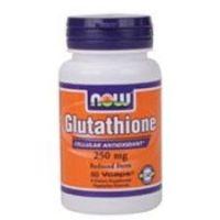 Glutation 250 mg envase de 60 vcaps ® de Now Foods (Protectores Hepáticos)