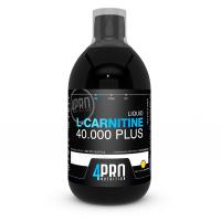 L-Carnitina 40.000 Plus Liquida envase de 500ml de la marca 4PRO Nutrition