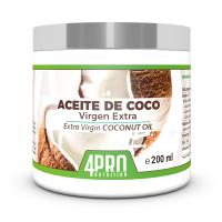 Aceite de Coco Virgen Extra de 200ml del fabricante 4PRO Nutrition (Aceites)