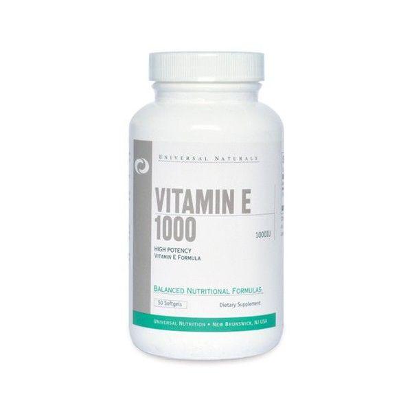 Vitamin E 1000 UI - 50 softgels
