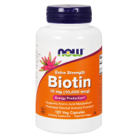 Biotin 10mg - 120 veg capsules
