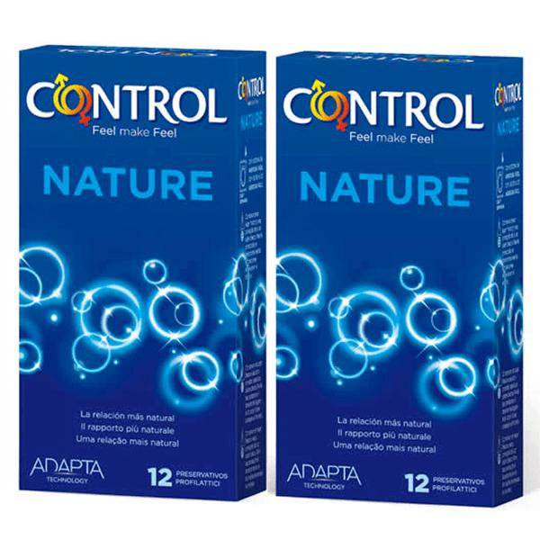 Condoms nature mega saving - 12+12 units