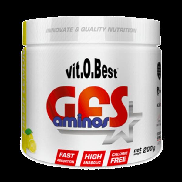 GFS Aminos envase de 200g de la marca VitoBest (Esenciales e Hidrolizados)
