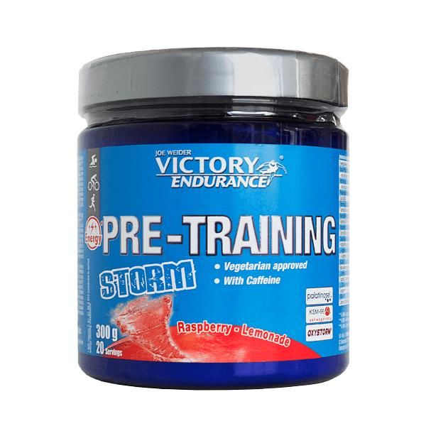Pre-Training Storm envase de 300g de la marca Victory Endurance (Pre Entrenamiento Running)