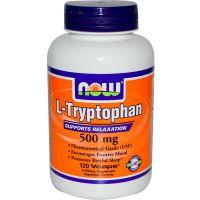 L Tryptophan 500mg envase de 60 vcaps de Now Foods (Otros Aminoácidos)
