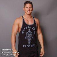 Camiseta Gym Joe Premium Contraste de Gold's Gym