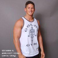 Camiseta Atleta Muscle Joe Premium Contraste de Gold's Gym