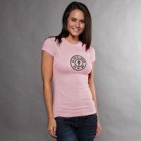 camiseta chica simple logo