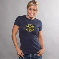 Camiseta Chica Simple Logo de Gold's Gym
