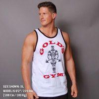 Camiseta Atleta Premium Joe Contraste de Gold's Gym
