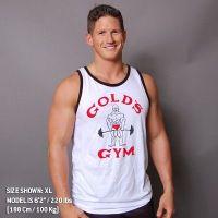 Camiseta Atleta Classic Joe Contraste de Gold's Gym