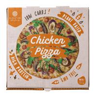 Pizza Funcional Alta en Proteína de 350g de la marca Alasature (Comida preparada)
