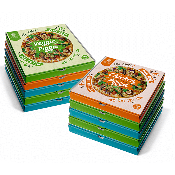 Family pack 10 high protein pizzas