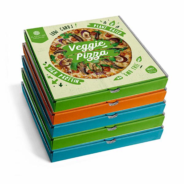 Pack de 5 Pizzas Funcionales de la marca Alasature (Comida preparada)