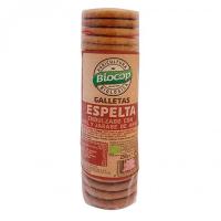 Galletas de Espelta Integral envase de 250g del fabricante Biocop (Dulces y galletas)