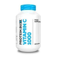 Vitamina C 1000 de 100 tabletas del fabricante Protein Buzz