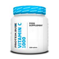 Vitamina C 1000 de 500 tabletas del fabricante Protein Buzz