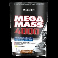 Mega Mass 4000 de 4 kg del fabricante Weider (Ganadores de Peso con proteína)