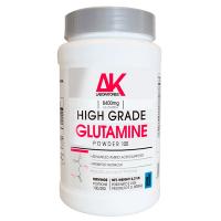 Glutamina envase de 1 kg de la marca AK Laboratories