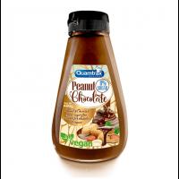 Crema de Cacahuete y Chocolate Vegano de 400g de Quamtrax (Cremas de Cacahuete)