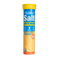Salt Effervescent envase de sales minerales efervescentes de la marca Victory Endurance (Sales Minerales)