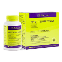 XS Appetite Supressant envase de 180 cápsulas de 500Cosmetics (Inhibidores de Apetito)