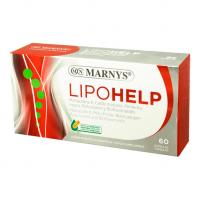 Lipohelp envase de 60 cápsulas de la marca Marnys (Sistema Circulatorio)