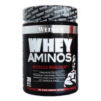 Whey Aminos envase de 300 tabletas de Weider (Esenciales e Hidrolizados)