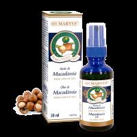 Aceite de Macadamia envase de 50ml del fabricante Marnys (Reafirmantes Corporales)