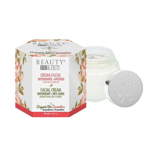 Facial cream antioxidant anti-aging - 50ml