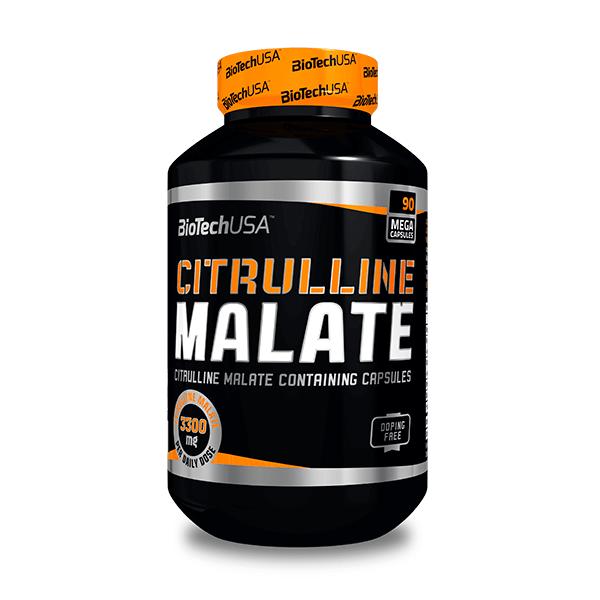 Citrulina Malato envase de 90 cápsulas de la marca Biotech USA (Otros Aminoácidos)