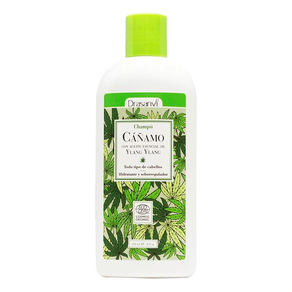Champú de Cáñamo Bio envase de 250ml de la marca Drasanvi (Jabones y geles)