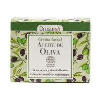 Crema Facial de Aceite de Oliva Bio de 50ml de Drasanvi (Jabones y geles)