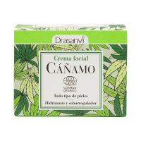 Crema Facial de Cáñamo Bio envase de 50ml del fabricante Drasanvi (Jabones y geles)