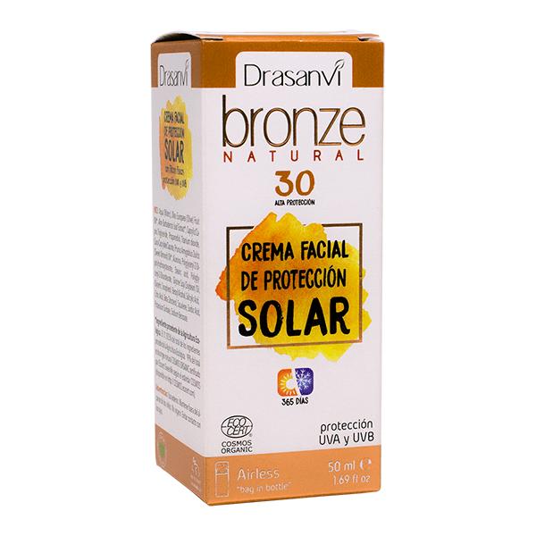 Crema Facial de Protección Solar 30 envase de 50ml de la marca Drasanvi