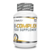 B Complex de 60 tabletas de Biotech USA (Vitaminas)