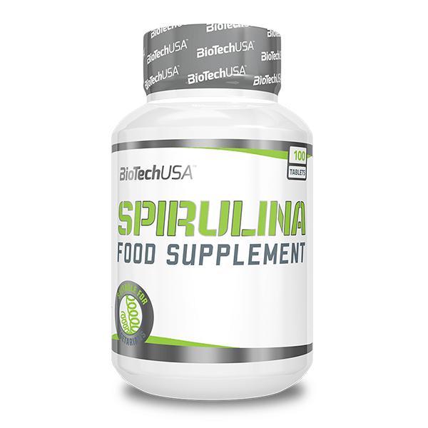Espirulina de 100 tabletas de Biotech USA