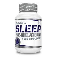 Sleep pre-melatonina envase de 60 cápsulas de Biotech USA (Mejora del sueño)